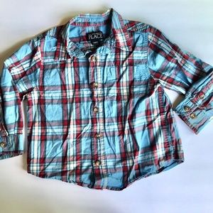 CHILDRENS PLACE boys button up 24 months
